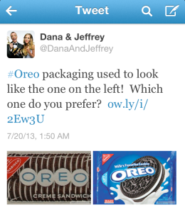 Tweet from Dana & Jeffrey!