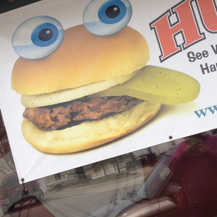I thought this was adorable. #HamburgerWagon